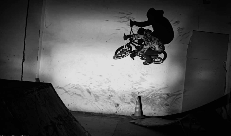 bmx, надпись, скейтпарк, стенка,