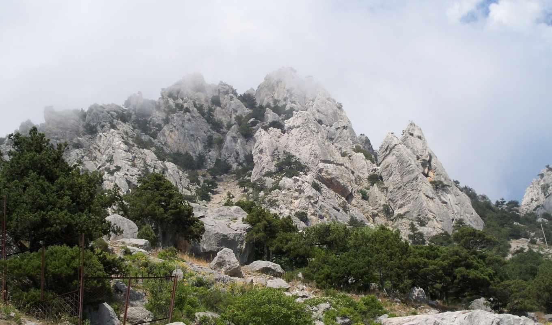 природа, самые, февр, туман, горы,