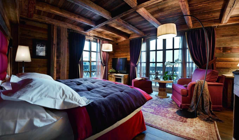 chalet, french, ormello, courchevel, кровать, спальня, дом, rent,