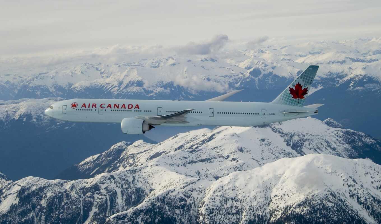 air, канада, boe, plane, пассажирский, полет, boeing, небо, облако, фото