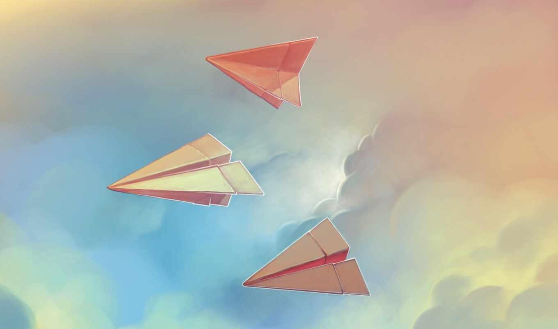plane, бумага, kite, идеальный, канал, youtube, шапка