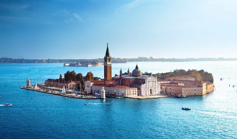 вода, венеция, море, джорджо, маджоре, сан, italy, картинка, картинку,