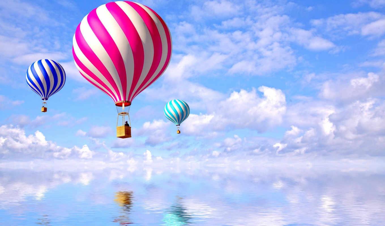 мяч, aerial, фотообои, полет, купить, воздушные,