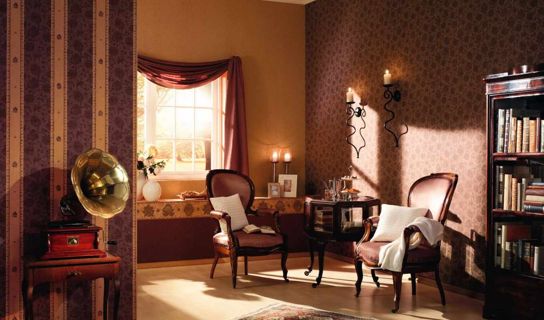 гостиная, стен, стены, комната, пол,