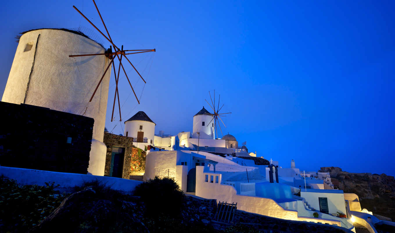 greece, города, santorini, oia, страны,