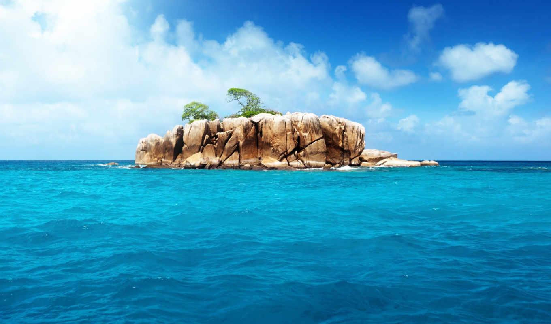 природа, landscape, море, остров, ocean, alcatel, dingo,