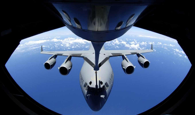 kc, air, refueling, globemaster, stratotanker, iii, boeing, base,