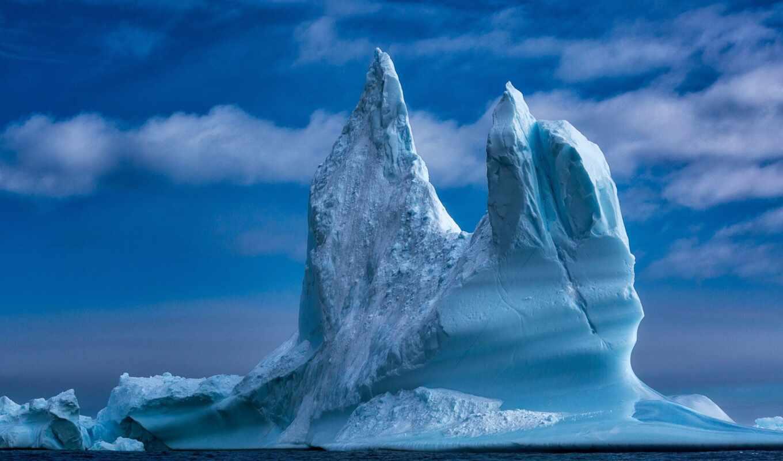 гренландия, море, iceberg, лед, bay, baffin, led, water, природа, seagull, облака