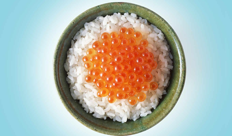 рис, красная, икра, чашка, картинка, риса, блюда, фотосток, код, имеет, горизонтали, вертикали,