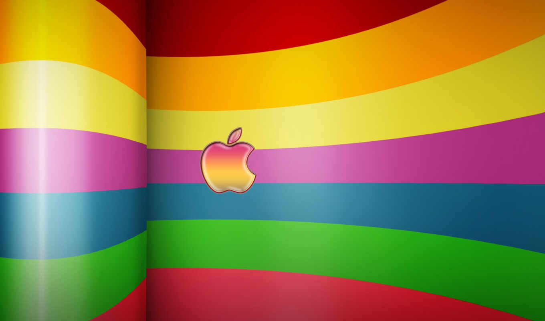 apple, ipad, iphone, logo, заставки,