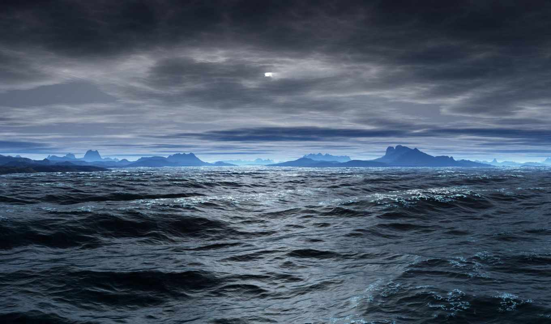 море, обои, синее, категория, природа, совершенно,