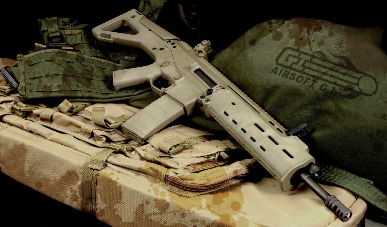 pantalla, rifles, guns, fondos, armas,
