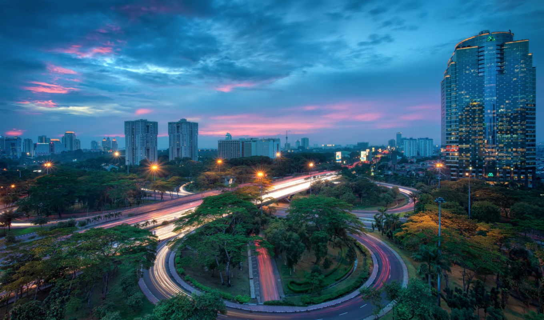 iphone, indonesia, jakarta, samsung, здания, htc, города, планшетный, просмотра, телефон,