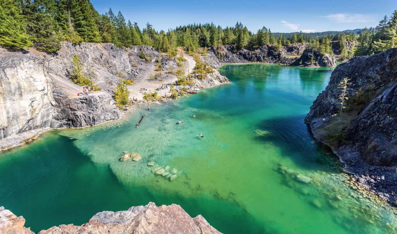 природа, изображение, остров, река, озеро, texada, харрисон,