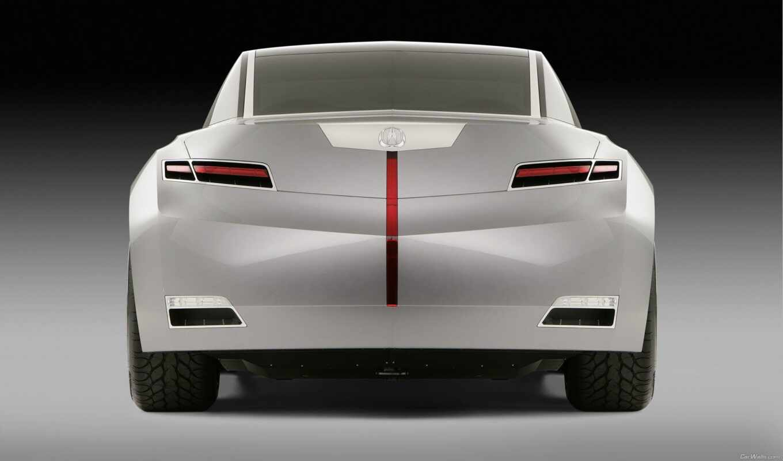 acura, advance, concept, седан, car