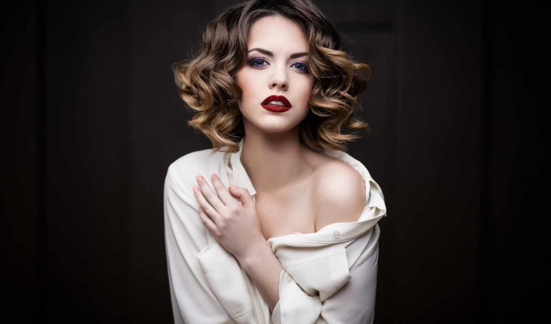 волос, волосы, coloring, средней, мелирование, длины, сделать, стрижка, rub, стрижки,