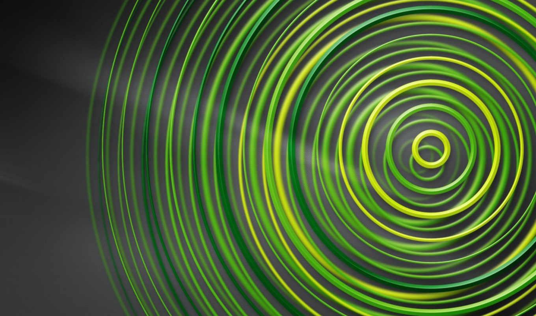 circle, зелёный, геометрия, chart, серый, всех, абстракция, хороший, качество