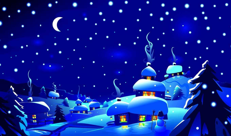 doman, christmas, country, ski, праздник, кросс, card, сервис, easy