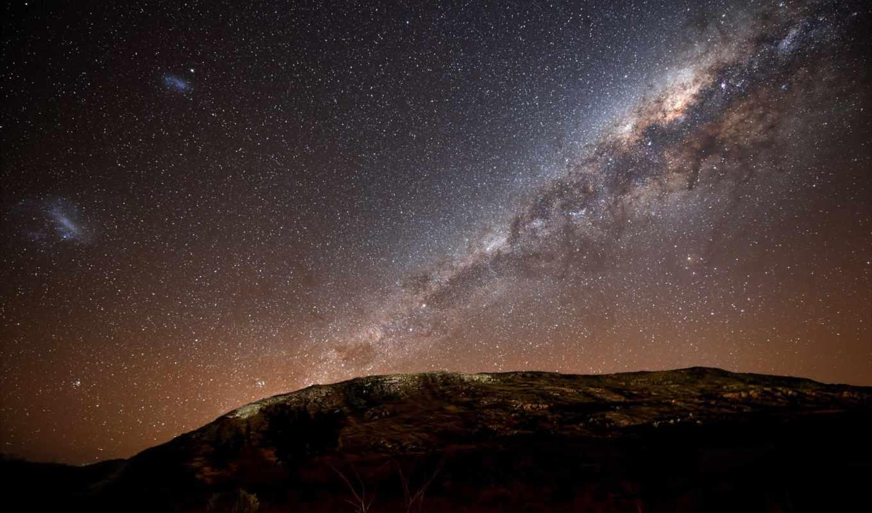 млечный, звезды, путь, небо, ночное, галактики, galaxy,