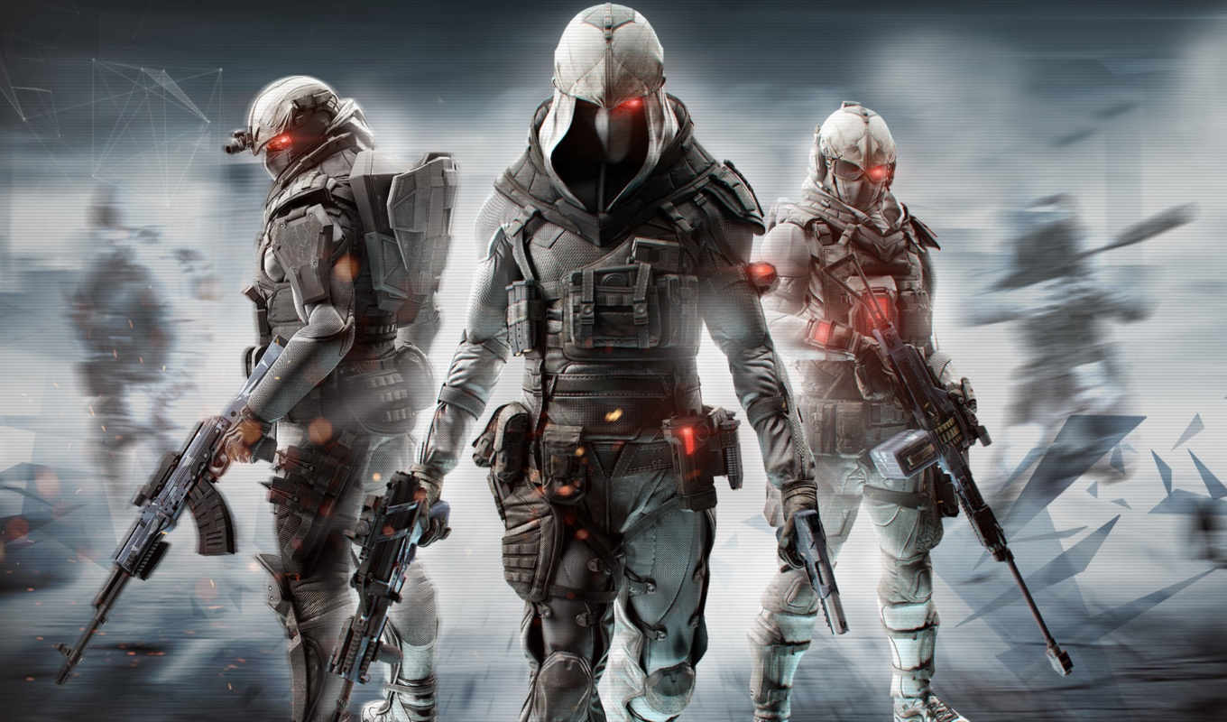 recon, creed, ghost, assassin, phantoms, with, new,