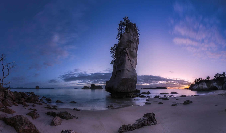 количество, пляж, мб, cathedral, рассвет, landscape, пейзажи -, скалы, desktop,