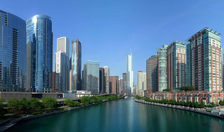 панорама, фотообои, город, пейзажи -, zhivotnye, панорамы, мост, высокого, закат, разрешения,