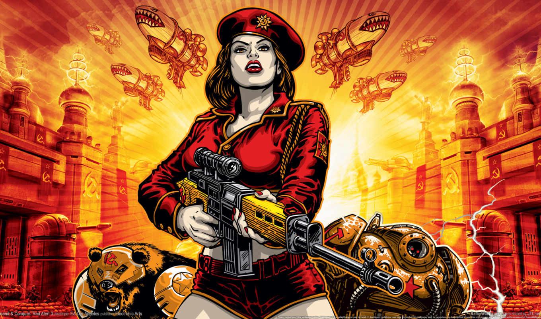 red, alert, conquer, command, xbox, является, сommand, достойным, серий,