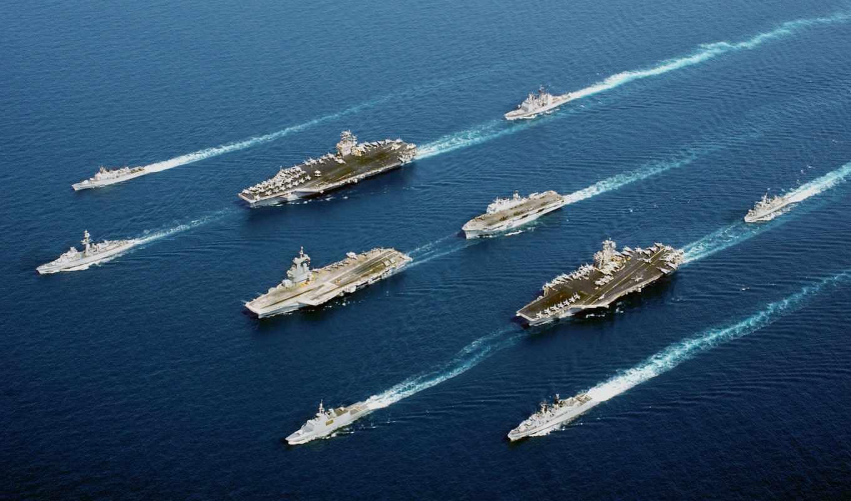 флот, авианосец, крейсер, катер
