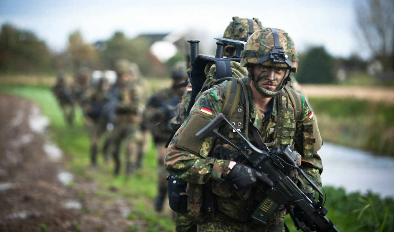 оружие, армия, солдаты, german, нов, солдат,