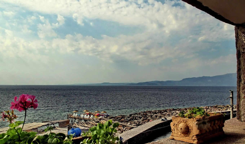 мар, para, vista, terraza, аль, imágenes, июл, naturaleza, vistas, mare, sfondi,