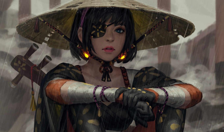 gifs, далеко, guweiz, девушек, павленко, посмотрите, самурай, best,