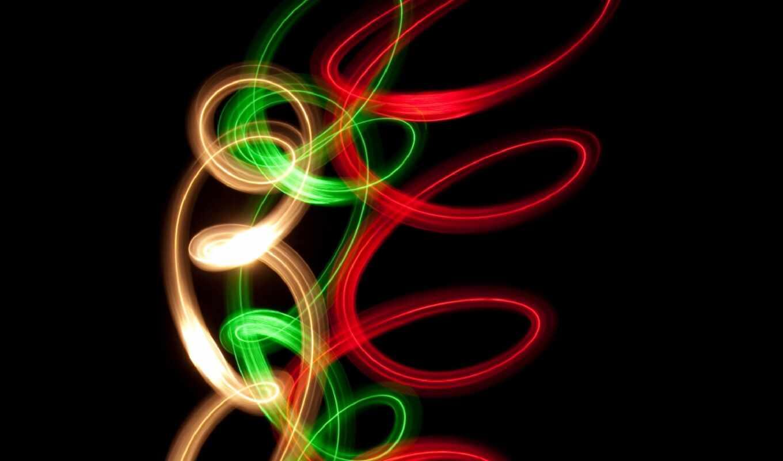 neon, color, gradient
