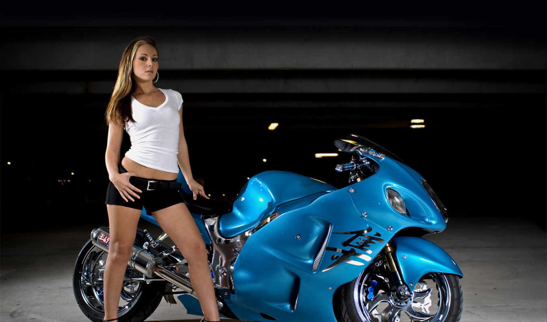 мотоциклы, devushki, девушка, suzuki, мотоцикл, но,