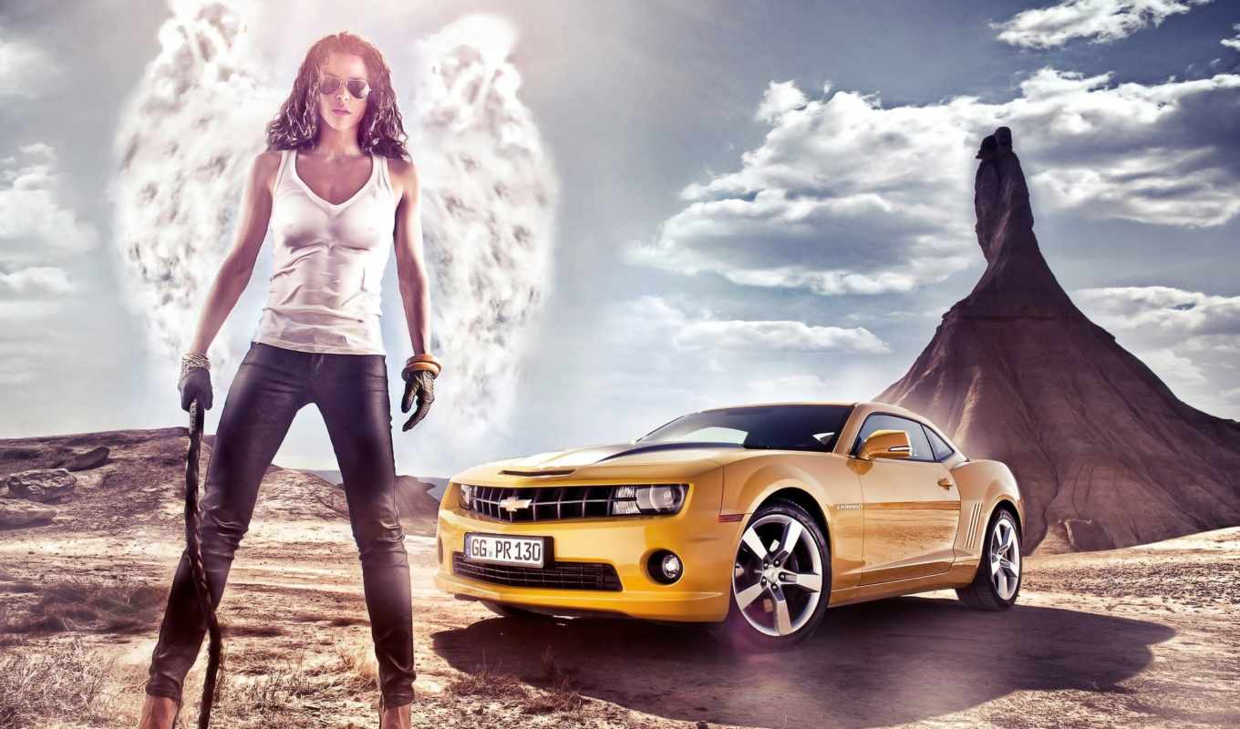 camaro, chevrolet, yellow, июня,