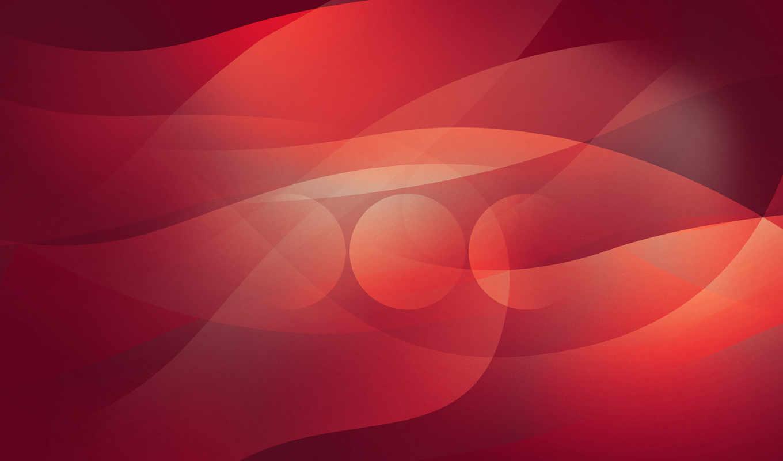 абстракция, круги, линии, красный, картинка, синий, розовый,