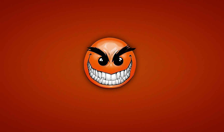 angry, зубастый, улыбка, смайл, хитрый, красный, facebook, картинку, cover, desktop, this, download, картинка,