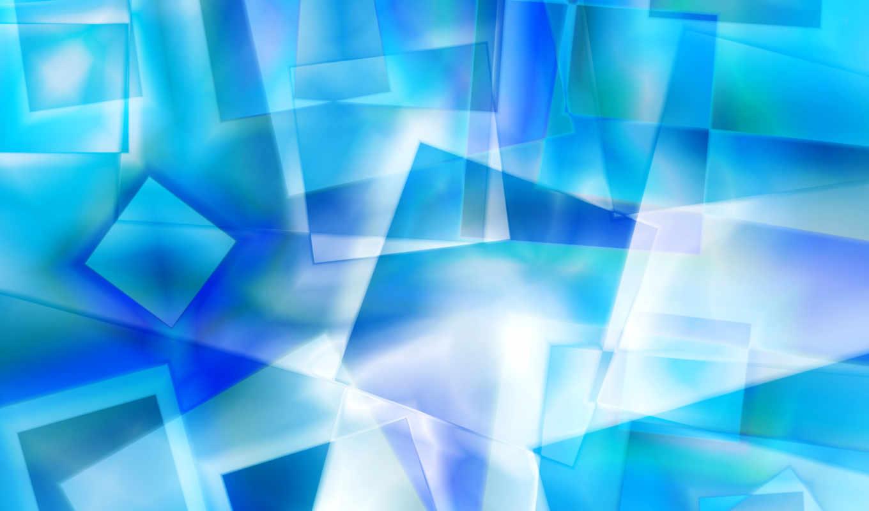 squares, abstract, icy, fantasy, crystal,