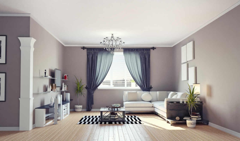 interer, комната, okno, диван, мебель,