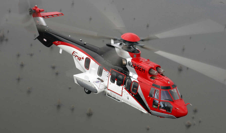 вертолет, eurocopter, авиация, puma, супер, вертолеты, пазлы, card, online,