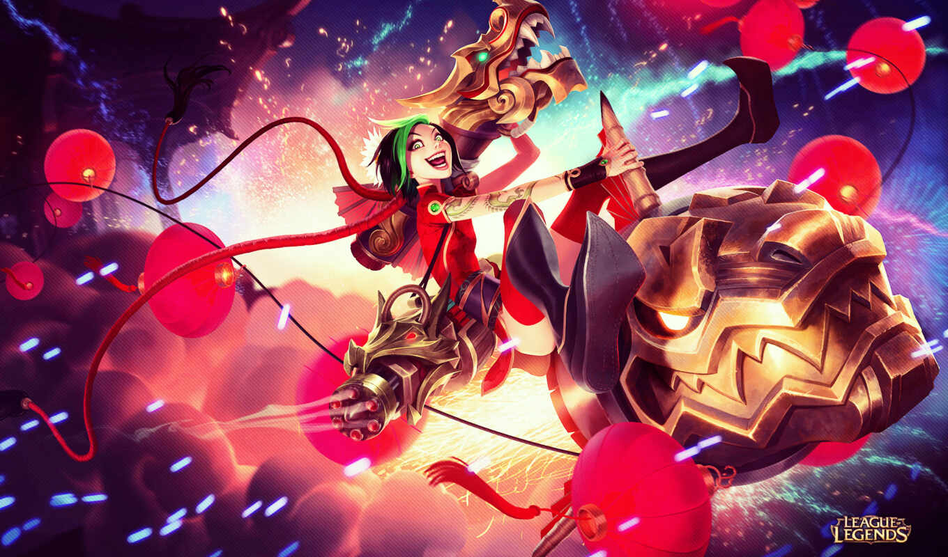 jinx, league, legends, firecracker, skin, this, подборка, amino, adc,