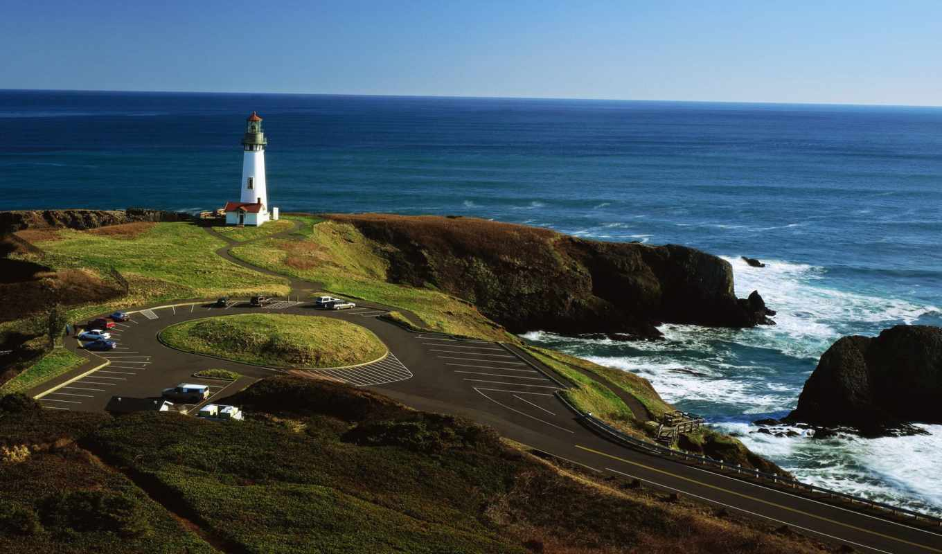 nissan, wallpaper, hd, strosek, cars, lighthouses, nature, sea,