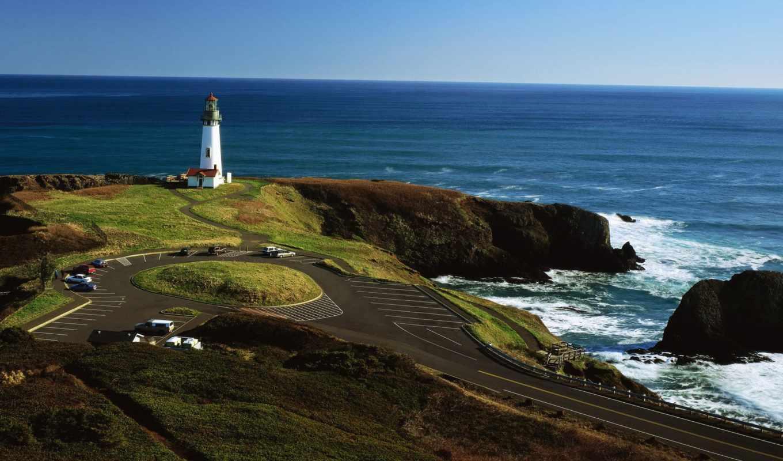 nissan, wallpaper, hd, strosek, cars, lighthouses, nature, sea,