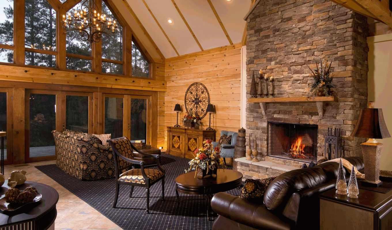 интерьер, villa, стиль, design, house,