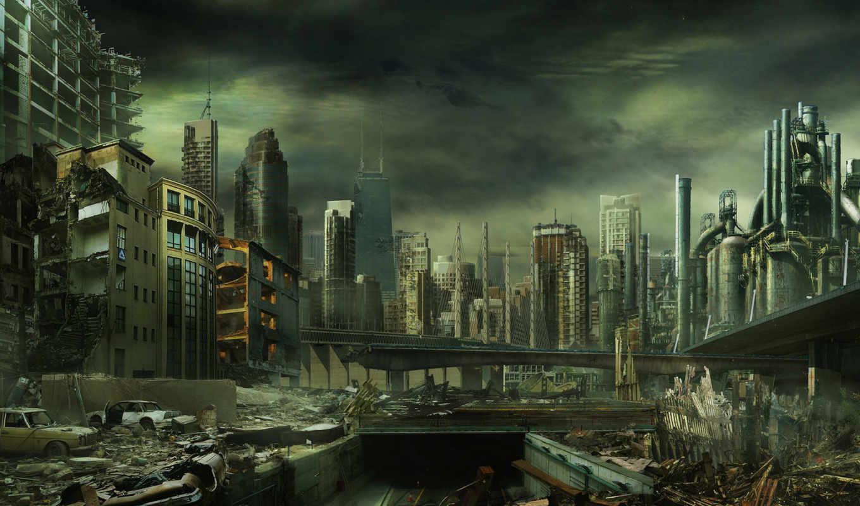 del, city, que, mundo, bölüm, иные, diciembre, destruction, fin, ha, una, megalopolis, skyscrapers, изображение, vadisi, kurtlar, abstract, pusu,