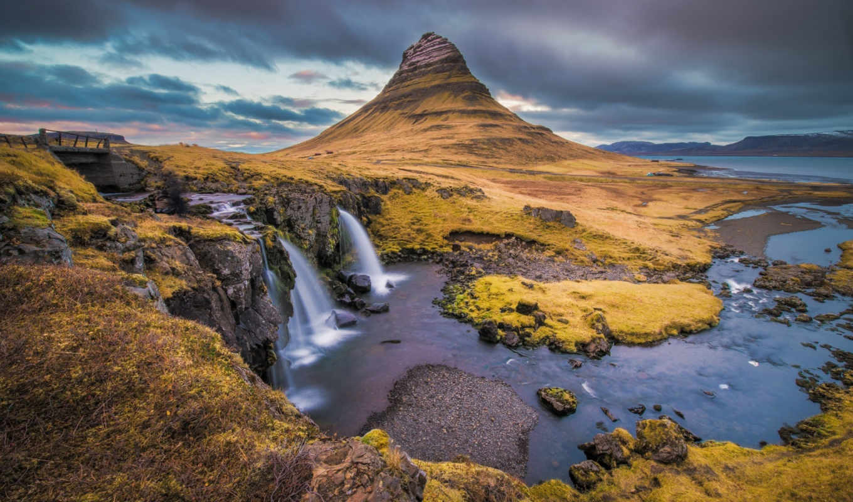 gora, kirkjufell, исландия, нравится,