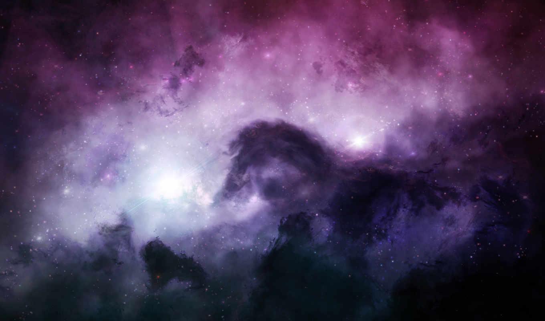 космос, outer, cosmos, stars, nebulae,