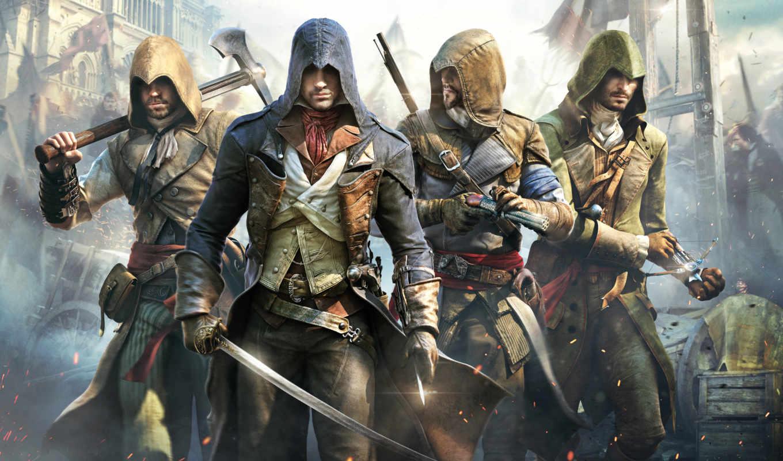 creed, assassin, unity, assassins,