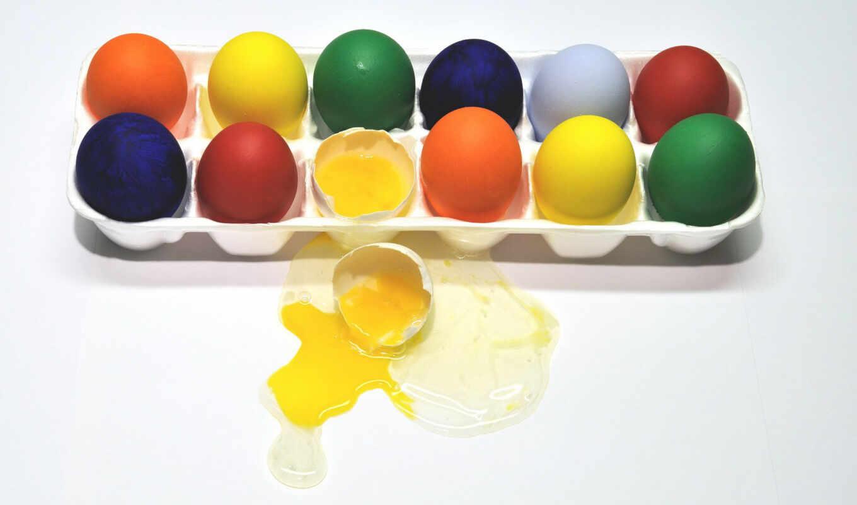 яйцо, краска