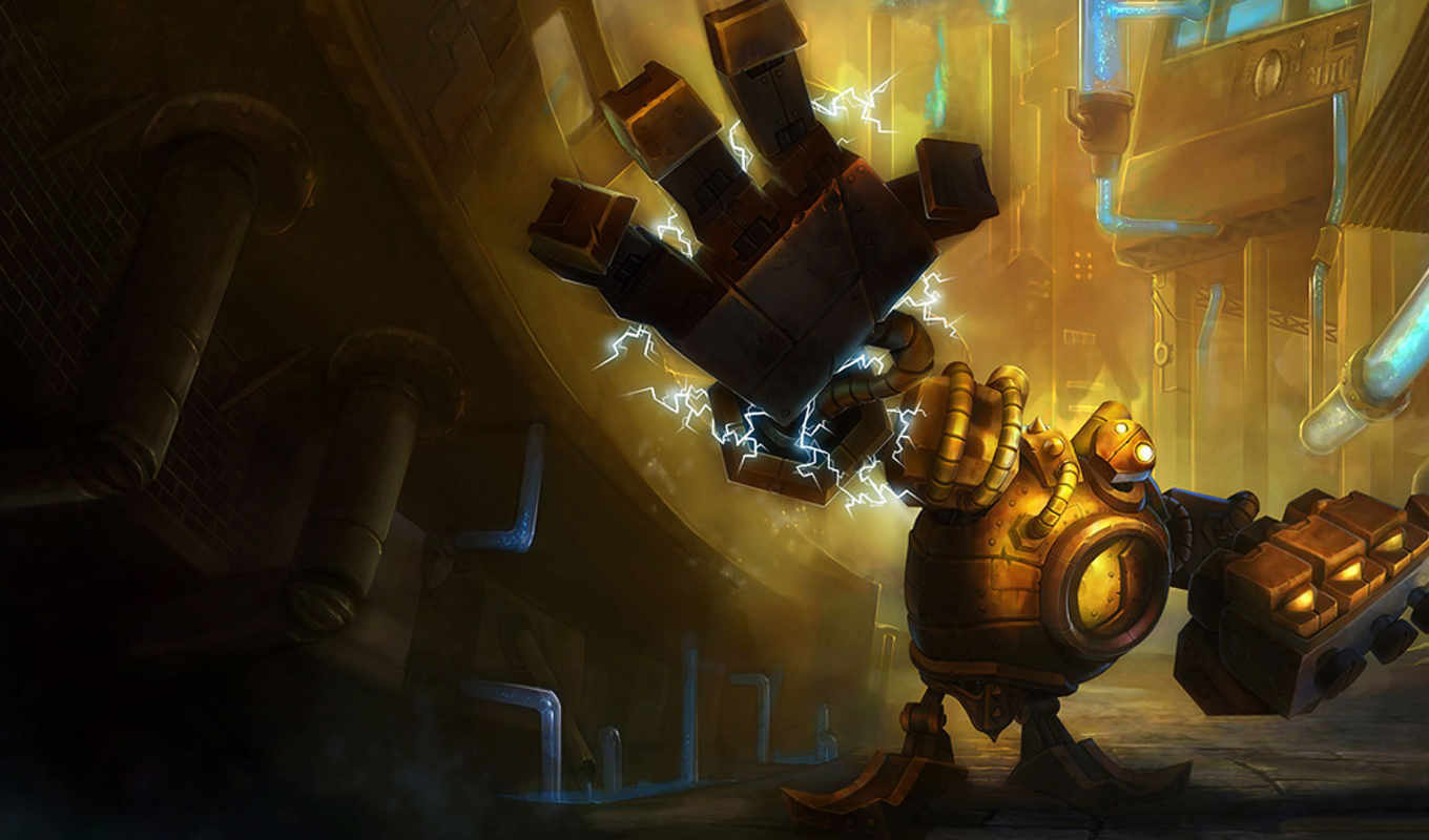 blitzcrank, league, legends, games, golem, steam, ъжчил, great, computer, support, art, fan, desktop,