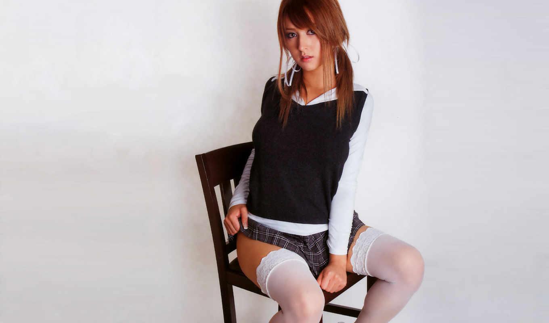 девушка, девушек, devushki, красивых, стуле, подборка,